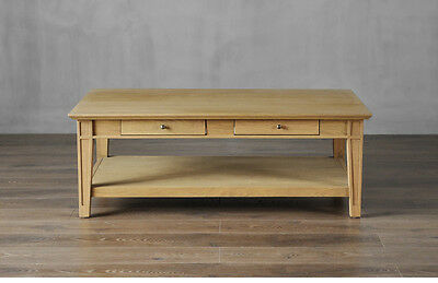 Gilruth French Provincial Solid Timber American Oak Coffee Table