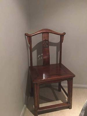 2 x Antique Asian Chairs
