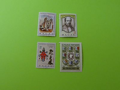 Stamps * MACAO * Misc Variety * SC 371 * 414 * 418 * 419 *  MNH 1954-69 *