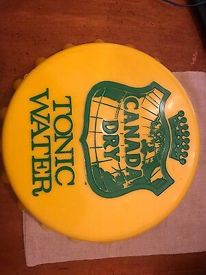 Vintage Canada Dry Button Tray Tonic Water