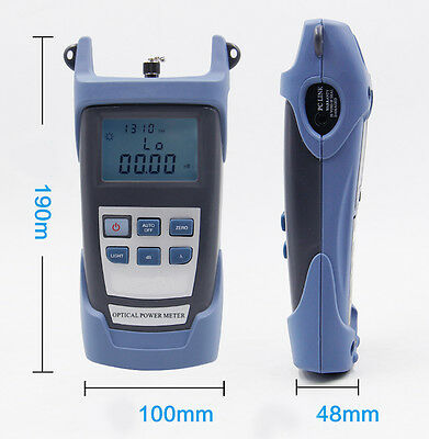New Optical Power Fiber Meter  Visual Fault Locator Fiber Optic Cable Tester