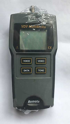 Ideal VDV Multimrdia Network Coax Cable Tester Digital LCD Display Test Meter