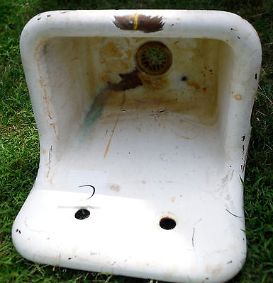 Pick One..Cast Iron Porcelain Antique Sink - Usa Made by Crane ,buy 1 or more