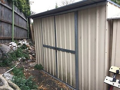 Colourbond garden shed