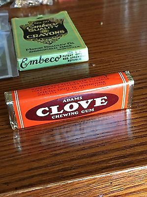 Vintage Pack Adams Clove Chewing Gum *New Old Stock*