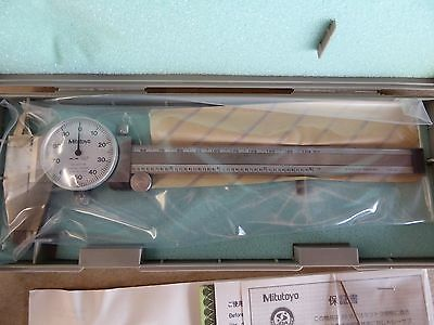 "New in Box Mitutoyo 505-637-50 Shock Proof Dial Caliper 6"" x .001"""