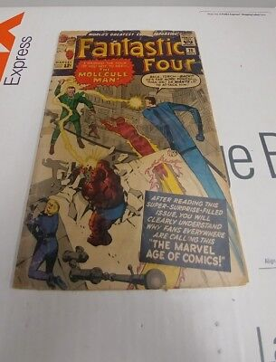 Fantastic Four (1961 1st Series) #20 Good Condition