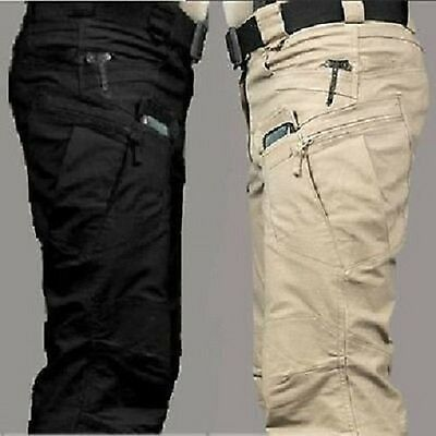 Tactical Ix7 Military Army Cargo Pants Security Combat Hiking Hunting Trousers