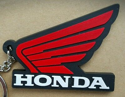 Honda Quality Rubber Keyring Motocross Road buy 3 and get 1 FREE