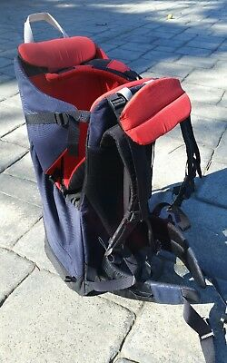 MacPac baby carrier backpack