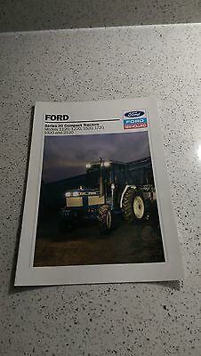 Ford New Holland 1120 1220 1520 1720 1920 2120 compact tractor brochure