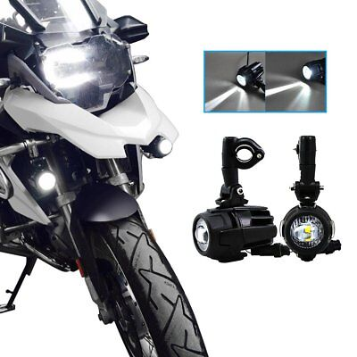 Cree LED Fog Light Auxiliary Driving Spot Beam 40W for BMW R1200GS ADV F800GS