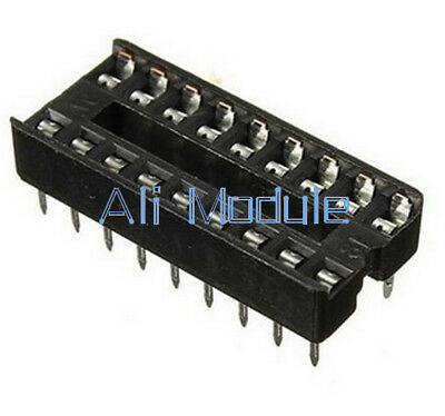New 10PCS 18-Pin Socket Pcb Mount Connector Dil Dip Develope Ic