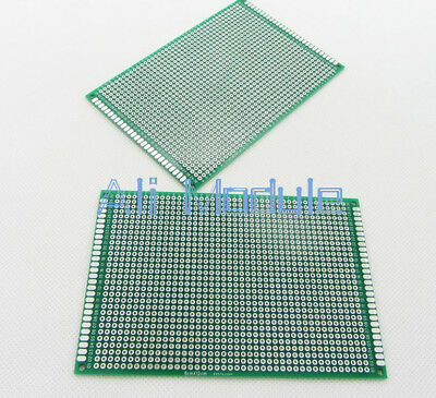8x12cm Double side Protoboard Circuit Tinned Universal DIY Prototype PCB Board