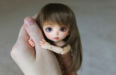 1/8 Bjd SD Little CuteLuna Girl Doll With Free Face Make Up+ Free Eyes