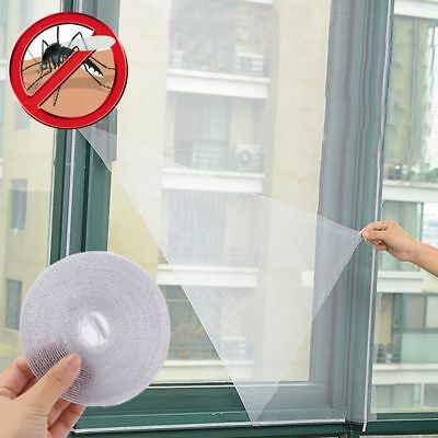 4Pcs Window Screen Net Insect Fly Bug Mosquito Door Netting Mesh Screen Sticky
