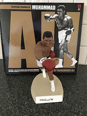 Muhammad  Ali Hand Signed Salvino statue With Coa Limited Release with Bonus