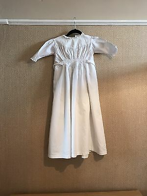 Antique Victorian French  Baby Nightgown