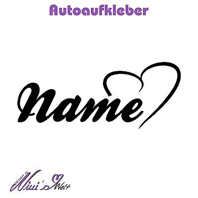Aufkleber Auto Tattoo Dub Fun Sticker Car Baby Kinder Name