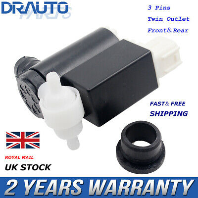 Front Rear Windscreen Washer Pump For Hyundai I30, Matrix, Accent, Coupe, Tucson