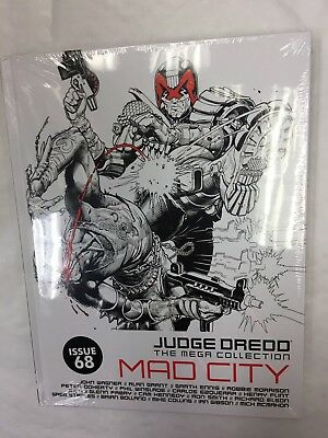 Judge Dredd Mega Collection Graphic Novel Issue 68 Mad City John Wagner Awesome