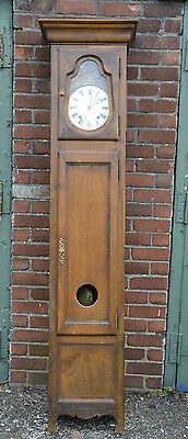 Antique French / Belgian Comtoise Grandfather Clock
