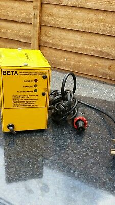 Beta ritelite microprocessor controlled automatic battery charger