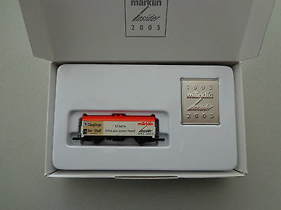 Marklin mini-club International Toy Fair Nuremberg 2003 Boxed 1:220 Z Scale