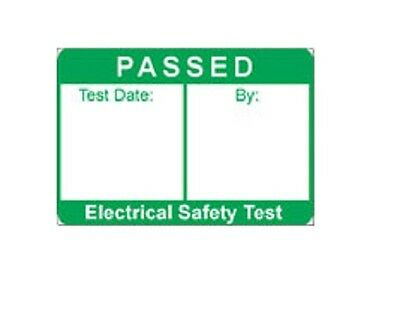 PAT Testing 'PASS' Label - SMALL (Plug Top)