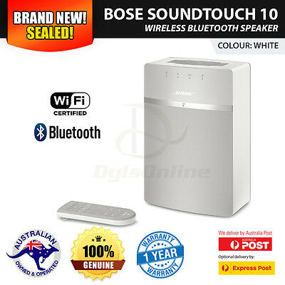New Sealed Bose Soundtouch 10 Wireless Bluetooth Speaker, White