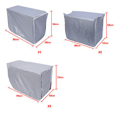 Outdside Air Conditioner Cover Anti-Dust Anti-Snow Sunproof Waterproof Home DIY