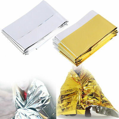 1pcs Outdoor Hiking Camping Reflective Heat Emergency Blanket First Aid Survival