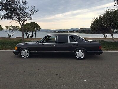 1990 Mercedes-Benz S-Class 420sel 1990 mercedes SEL with AMG UPGRADES! Youngtimer CA Classic NO RESERVE!