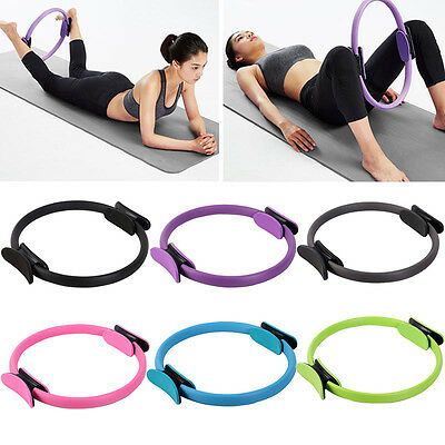 Dual Grip Pilates Ring Magic Circle Sport Exercise Fitness Weight Yoga Goods New