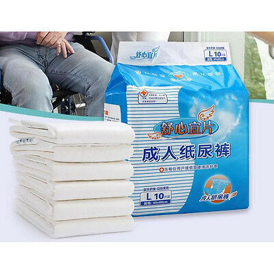 Adult Disposable HEAVY ABSORBENCY Ultra Brief Diaper,Large Full Case Diaper