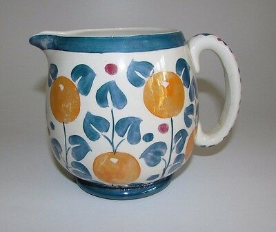 Gray's Pottery Lustre 'Oranges' Pattern Jug. #4117