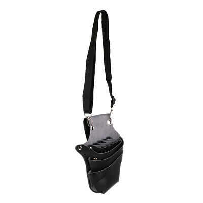 Black Hairdressing Scissor Shears Storage Case Pouch Bag for Barber Stylists