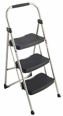 Werner 223-6 StepRight 225-Pound Duty Rating Type II Step Stool Steel 3-foot