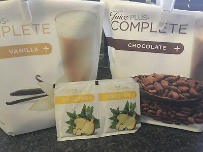 Juice Plus Meal Replacement Shake And Booster Sample