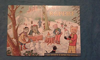 Rupert Annual Printed 1974, Not Price Clipped.