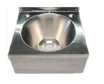 New Stainless Steel Commercial Catering Hand Wash Sink Basin 305x270x165mm