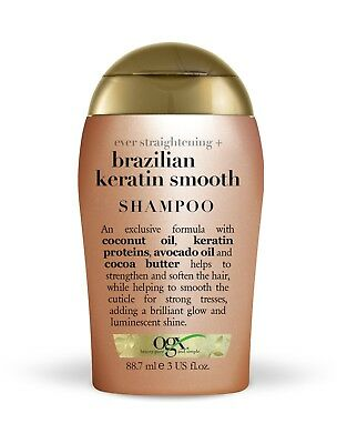 OGX Ever Straightening + Brazilian Keratin Smooth Shampoo 88.7 ml / 3 Oz