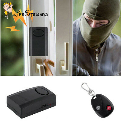 Motorcycle 120db Anti-Theft Security Alarm Safe System Vibration Detector
