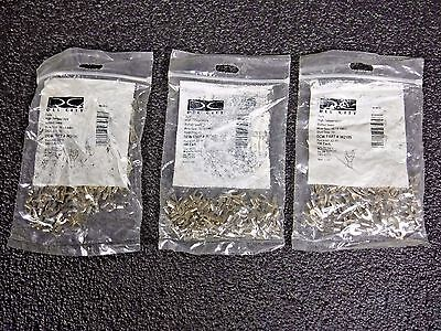 Lot of 3 High Temp Fork Terminals Butted seam HT-32-10 100 pk (DR)
