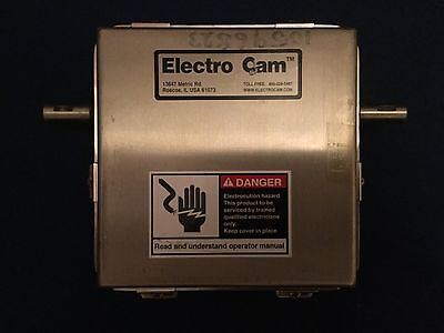 ELECTRO CAM Solid State Rotary Cam Limit Switch EC-3008-10-ADO-CFX