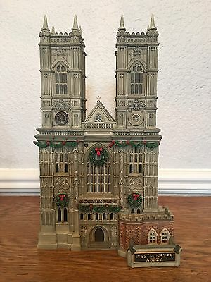 Westminster Abbey Department 56 Dickens Village Retired