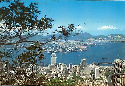 A VIEW OF CENTRAL FROM MAY ROAD  HONG KONG  continental size chrome used 1976