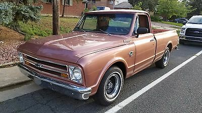 1967 Chevrolet C-10  1967 Chevrolet C10 SWB *LS Swapped* LM7 Auto HP Tuners TH350
