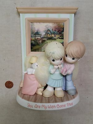 Hamilton Precious Moments Thomas Kinkade YOU ARE MY WISH COME TRUE Figurine Deal