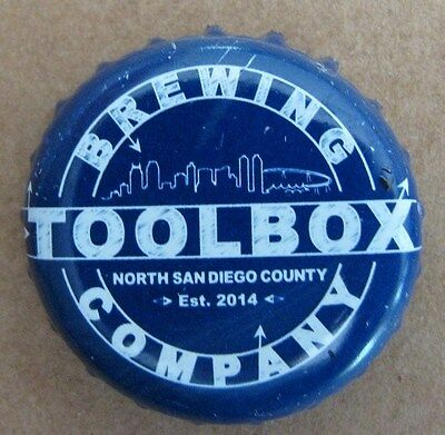 Toolbox Brewing Company North San Diego County Micro Craft Beer Bottle Cap
